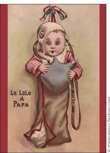 Carte Le lolo � son papa pour envoyer par La Poste, sur Merci-Facteur ! La fête des pères arrive dans quelques jours...  Envoyez en quelques clics une jolie carte :) http://www.merci-facteur.com/carte-fete-des-peres.html #carte #fetedesperes #papa