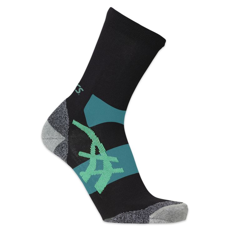 Asics Winter Running Sock - $24.99 CDN The Asics Winter Running Sock is made of synthetic and natural temperature regulating yarns which provide insulation and regulate temperature swing to prevent you from getting too warm or too cool.