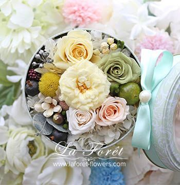 La Forêt Creative Lesson - Flower Box Gift / 不凋花禮盒