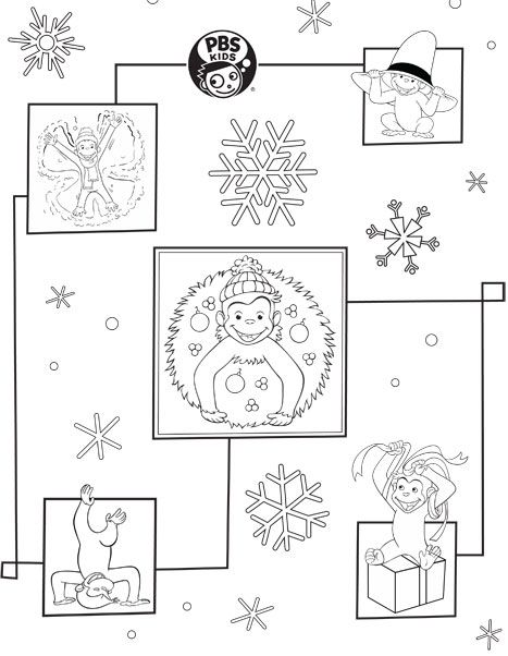curious george wrapping paper coloring paper and coloring pages. Black Bedroom Furniture Sets. Home Design Ideas