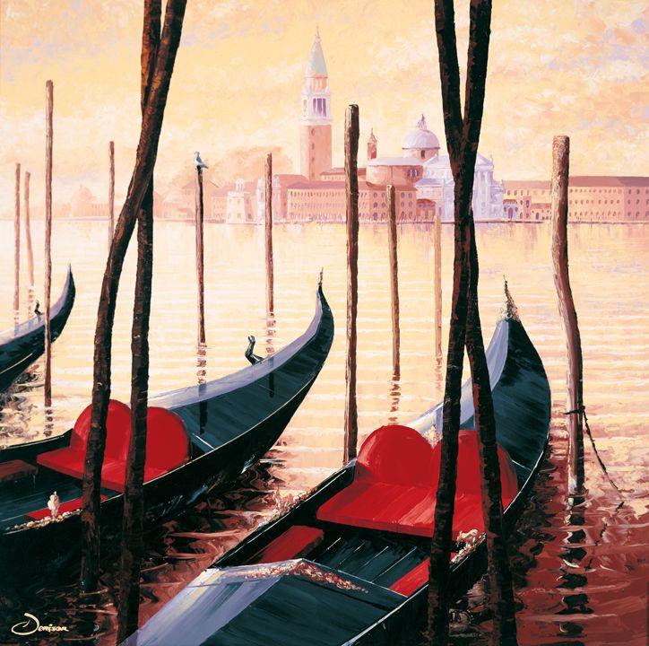 'San Giorgio Maggiore' by Graham Denison. Original SOLD