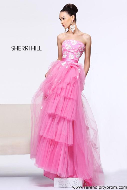 156 mejores imágenes de Pink Prom en Pinterest | Vestido de baile de ...