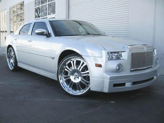 Chrysler 300 300c Phantom Rr Front Conversion Bumper Body Kit For