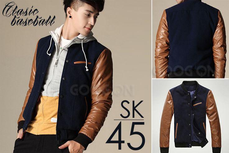 Jaket Korean Style - Baseball (SK-45)