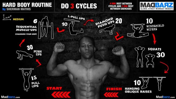 Medium Hard Body Routine