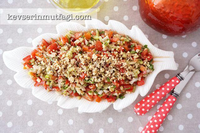 Gavurdağı Salatası Tarifi - Kevser'in Mutfağı - Yemek Tarifleri