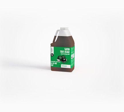 Eco&Eco - Savon tout-usage naturel & biodégradable   Eco&Eco - Biodegradable & Plant-Based All-in-One Soap