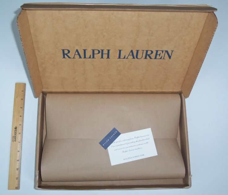 OUT-OF-BOX. Ralph Lauren excels at delivering an out-of-box experience to its online customers with sturdy packaging that includes special touches such as a thank-you note.