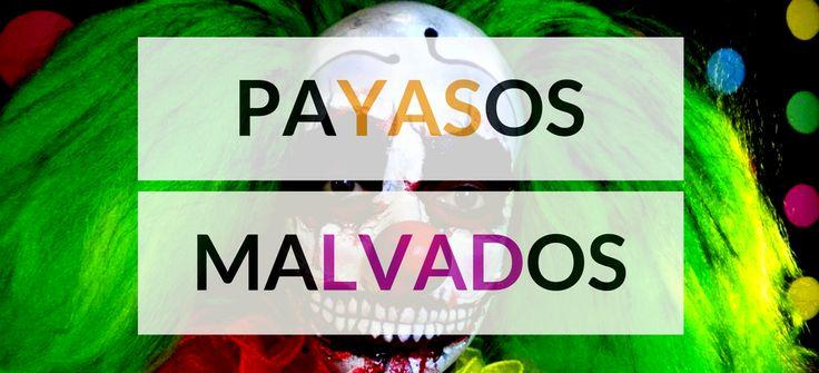 Payasos malvados para Halloween #blog #tienda #disfraces #online #carnaval #halloween