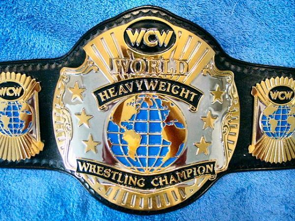 wcw championship belts | WCW World Heavyweight Championship 91-93