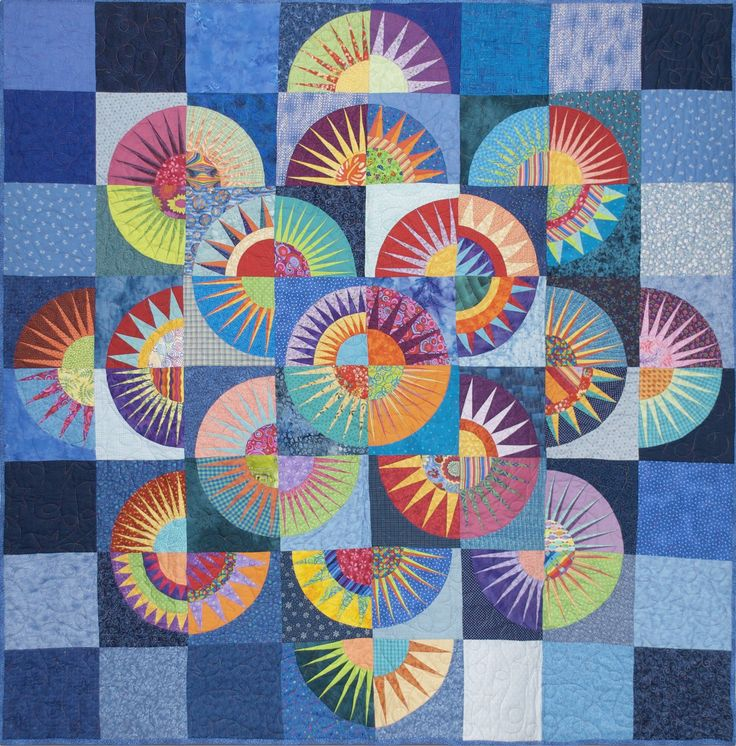 """I'm on cloud nine. I just bought a quilt made using a well-known Karen Stone  pattern called """"Lady Liberty Goes to Hawaii"""" from the 2004 El..."""