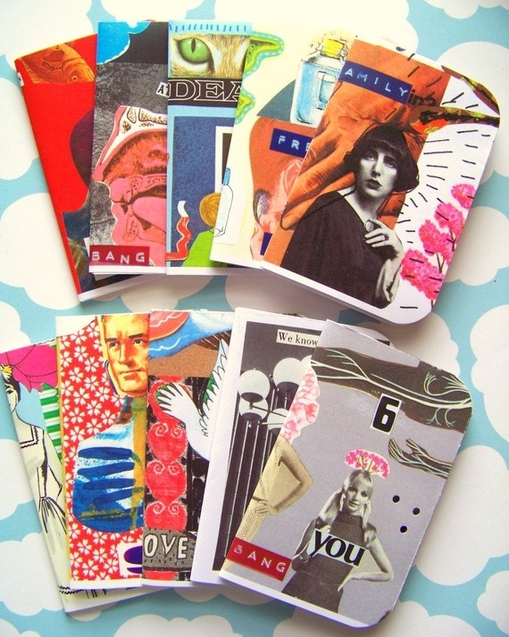 cute hand made zine collection