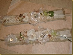 Cuff bracelets for mother of the bride and mother of the groom!