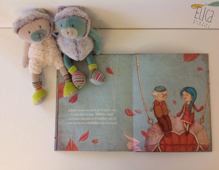 I baci di Cornelius, di Agnès de Lastrade ei Charlotte Cotterau, Valentina Edizioni Libri per bambini, illustrazioni.