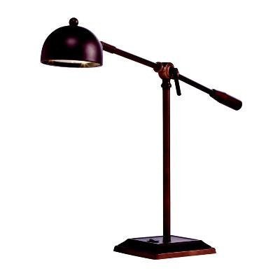 LED Desk and/or Piano Lamp by Kichler Lighting.   Functional, stylish and energy efficient, too.   Uses 9 watt LED lamp.   Great gift!