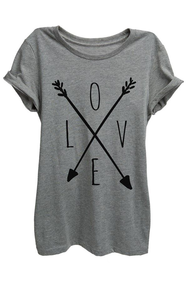 Anchors + Arrows Relaxed Graphic Prints. Arrow DesignShirt ...