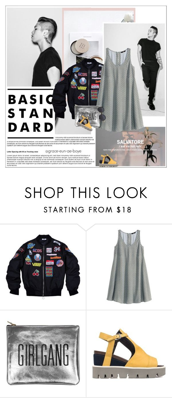 """""""Babylon"""" by grace-eun-ae-boye ❤ liked on Polyvore featuring H&M, Sarah Baily, Strategia, kpop and babylon"""