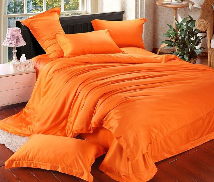 Best 25 Orange Bedding Ideas On Pinterest Navy Orange