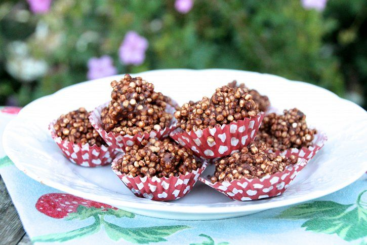 Chocolate Quinoa Crispy Treats