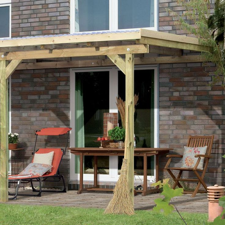 toit de terrasse bois massif autoclave karibu 240 x 244 maison facile. Black Bedroom Furniture Sets. Home Design Ideas