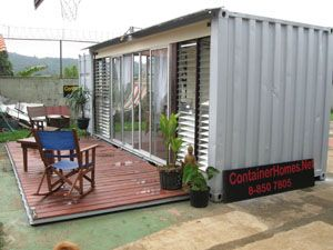 Container house, more at http://tinyhousetalk.com/top-10-shipping-container-tiny-houses/6/