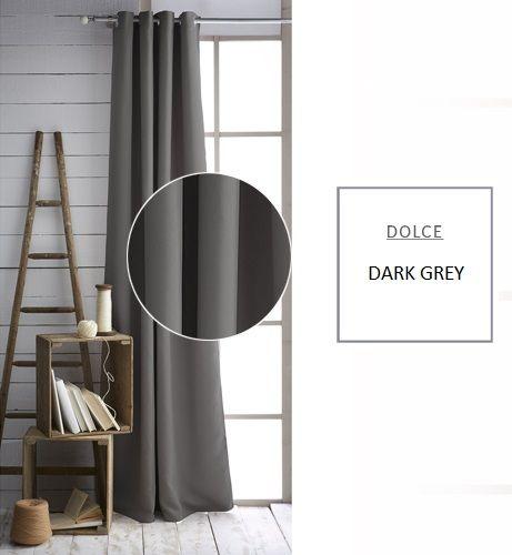 Kvalitný záves tmavo sivej farby