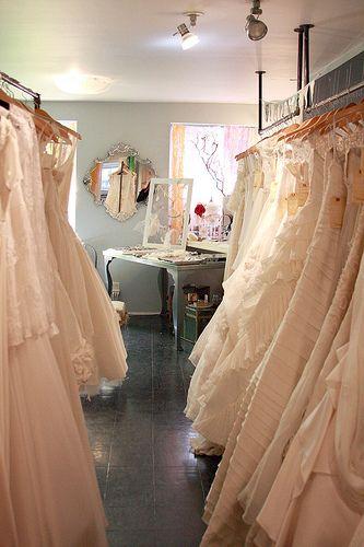 Inside lovely bridal shop in new york wedding for New york city wedding dress shops