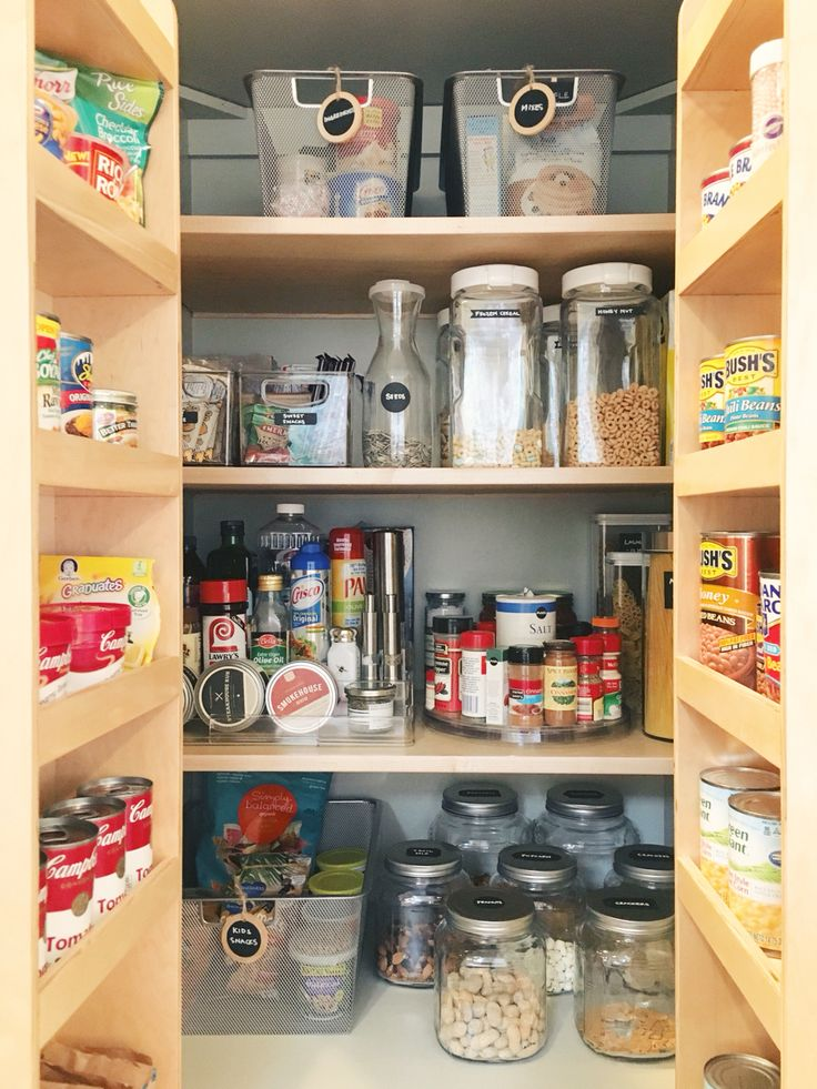 55 best Pantry images on Pinterest Organized pantry Kitchen