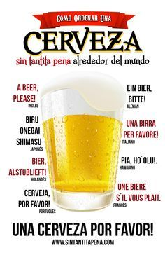 frases con cerveza - Buscar con Google