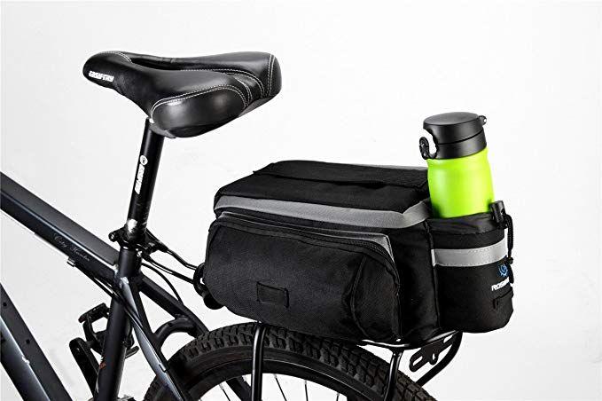 Runytek Bicycle Roswheel Rear Seat Trunk Bag Handbag Bag Pannier