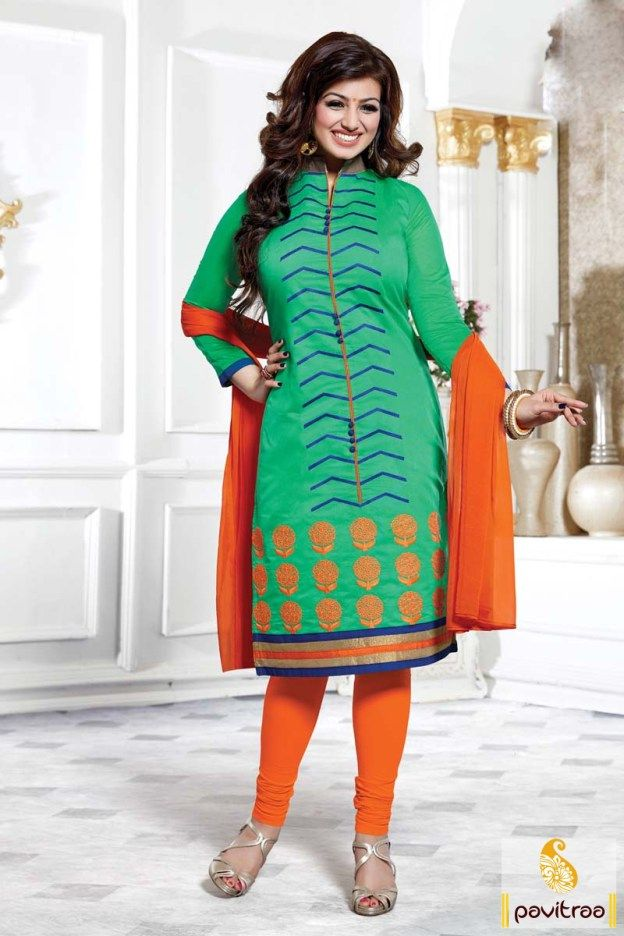 #LightSeaGreen and #Orange #Chiffon #Cotton Salwar Kameez 2016 #salwarsuit, #salwarkameez, #Bollywood, #Heroine, #actress, #celebrity, #ayeshatakia, #casual, #dailywear, #officewear, #formal, #embroidered	, #dresses, #newcollection, #latest, #indianfashion, #fancy, #stylish, #beautiful, #lowestprice, #discountoffer, #onlineshopping More Product : http://www.pavitraa.in/store/bollywood-salwar-suit/ Any Query :  Call / WhatsApp : +91-76982-34040  E-mail: info@pavitraa.in