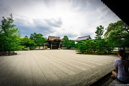 Beautifully-made Japanese garden.