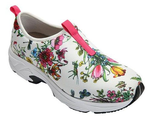 Drew Shoes Blast in Floral   Womens Slip-On Sneakers