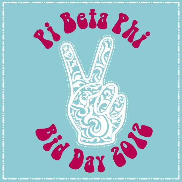 Pi Beta Phi Bid Day shirt by Geneology #piphi #pibetaphi