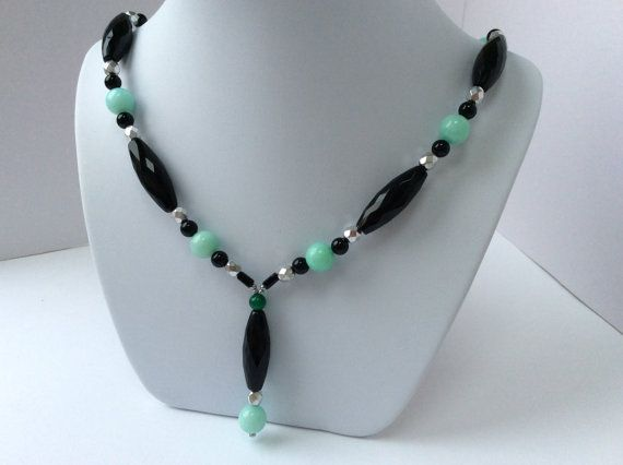 Hey, I found this really awesome Etsy listing at https://www.etsy.com/se-en/listing/488538004/aqua-jade-with-black-agate-and-silver-y