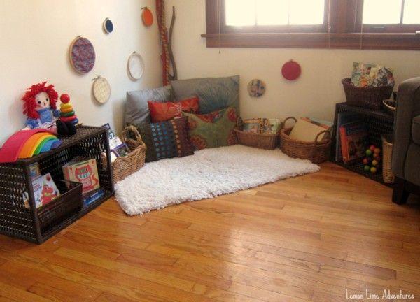 20 best Leseecke Kita images on Pinterest Child room, Play rooms - ideen fur leseecke pastellfarben