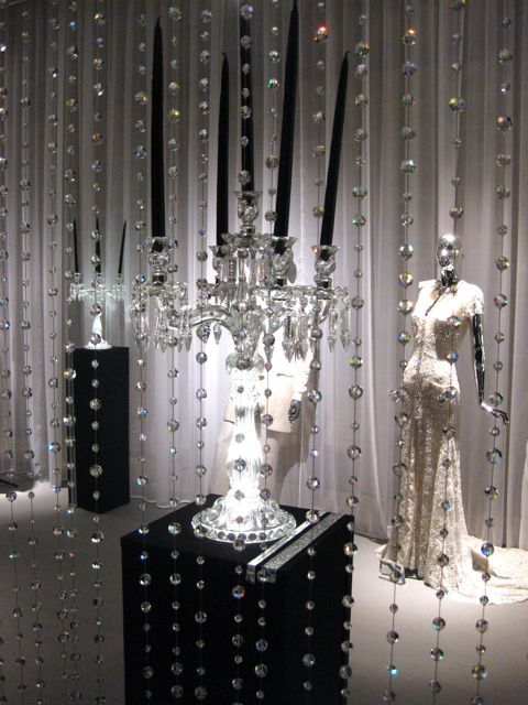 Add Your Theme Into Reception Without Over Doing It Hanging Stands Of Crystals Around The Room Can Really Some So Bling Receptions Pinte