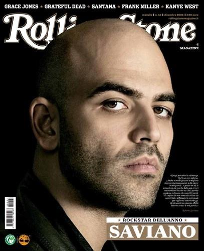 I primi 100 numeri di Rolling Stone. N°62 – dicembre 2008. Roberto Saviano in copertina. #cover