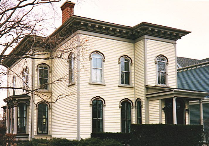 Italianate House Evanston Il Dave 39 S Victorian House Site Evanston Gallery Exterior