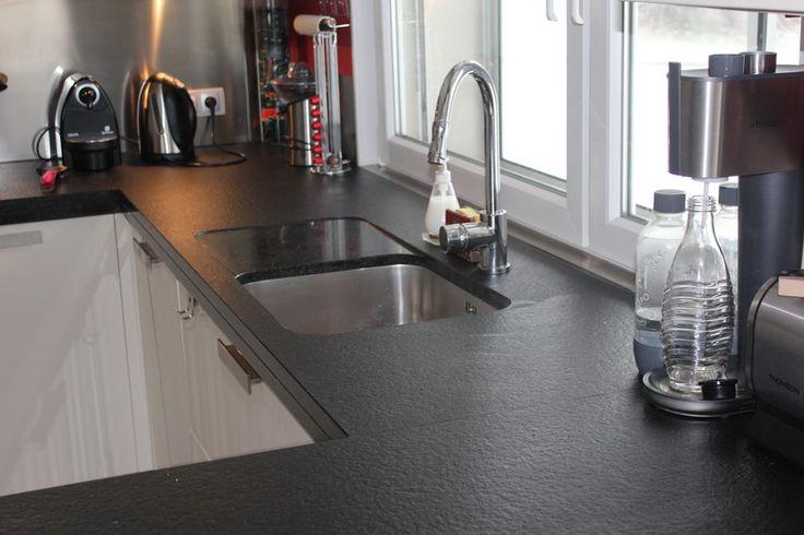 Les 25 Meilleures Id Es De La Cat Gorie Cuisine En Granit Noir Sur Pinterest Comptoirs En