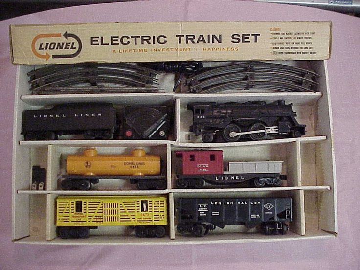 How much is a 1950 lionel train set worth