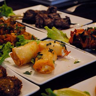 Restaurant MazMez, origineel Libanees eten - West