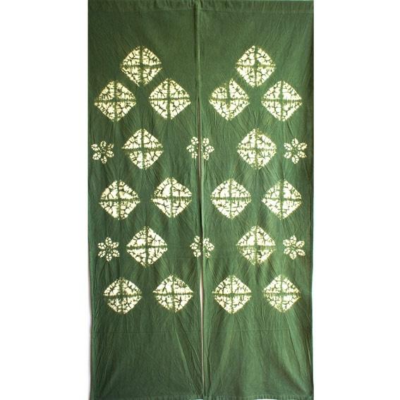 Doorway curtain via Murata (15 E Broadway)