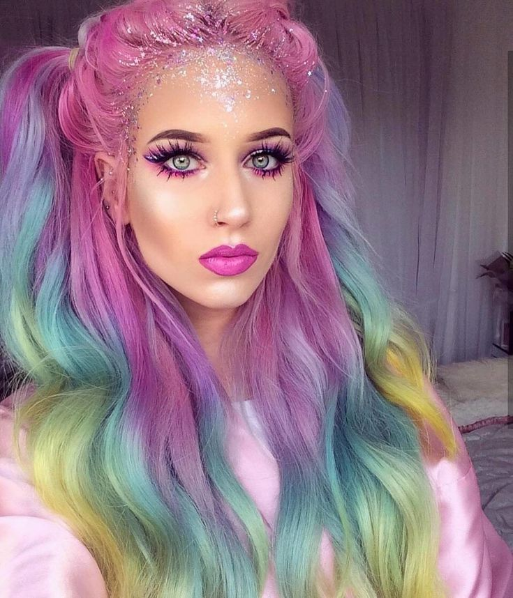 Unicorn makeup has been trending all year so grab some glitter and a rainbow highlighter and create the best unicorn Halloween costume.