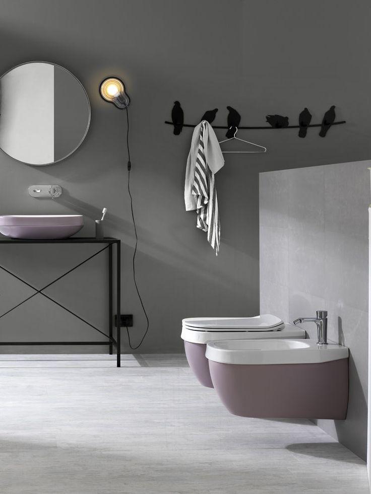 Hatria Abito sanitair dat in eigen kleuren of met eigen logo kan worden uitgevoerd.