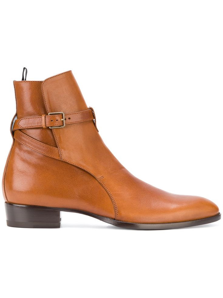 Handmade Men Tan color Jodhpurs boots, Men ankle leather boots, Men boots Upper Genuine leather Lining Soft leather Sole genuine leather Heel genuine leather Monk strap closure Manufacturing time 10 days