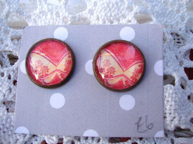 Butterfly Stud earrings £6.00