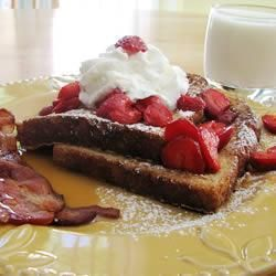 Extra Fluffy French Toast, perfect for Mother's Day