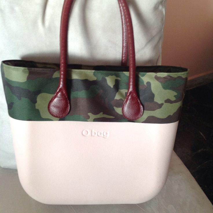 Bordo mimetico compatibile con o'bag  grande completo di chiusura con cerniera e tasche!