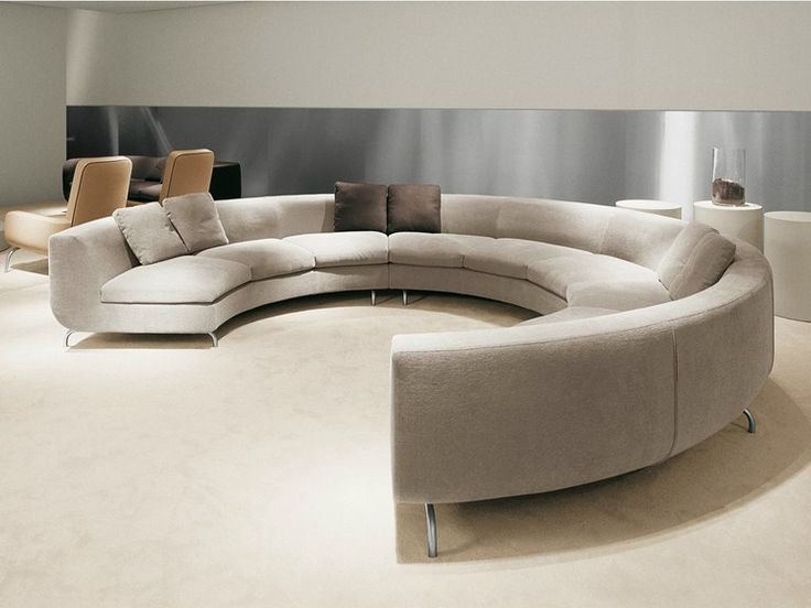 Best 25 Round Sofa Ideas On Pinterest Contemporary Sofa Contemporary Basement Furniture And